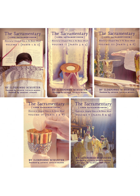 The Sacramentary - Volumes 1-5 (Complete Set) by Ildefonso Schuster