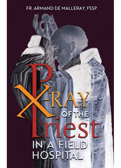 X-Ray of the Priest in a Field Hospital by Fr. Armand de Malleray, FSSP