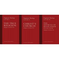 Dogmatic Theology Set - Msgr. Van Noort (Volumes 1-3)